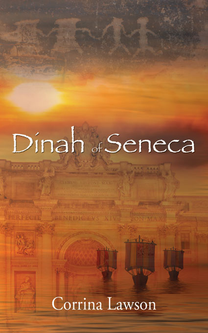 Dinah of Seneca by Corrina Lawson, alternate history, Romans, Vikings