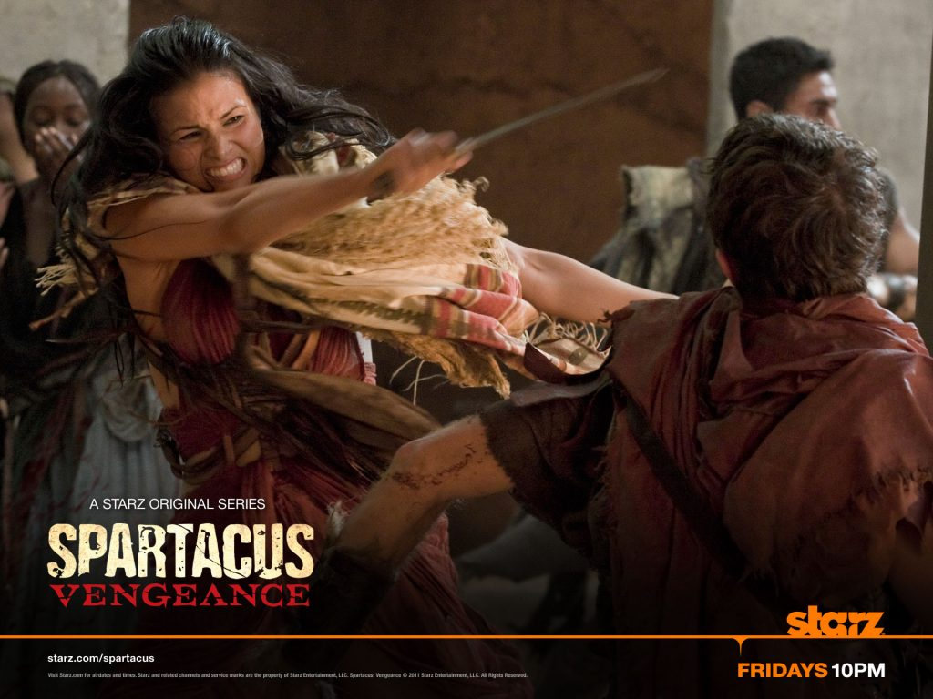 Mira, Katrina Law, Spartacus: Vengeance, Starz