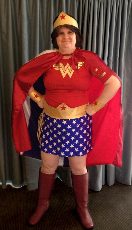 me in my wonder woman guise
