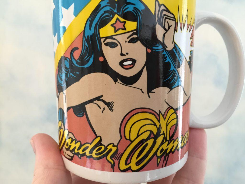 Wonder Woman, geeky mug