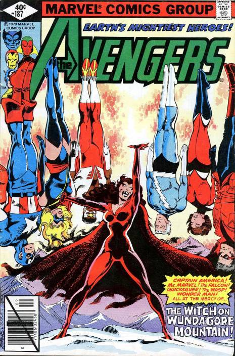 Scarlet Witch Knights of Wundagore