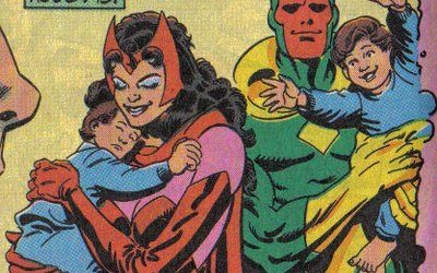 Superhero Romance of the Week: Vision and the Scarlet Witch