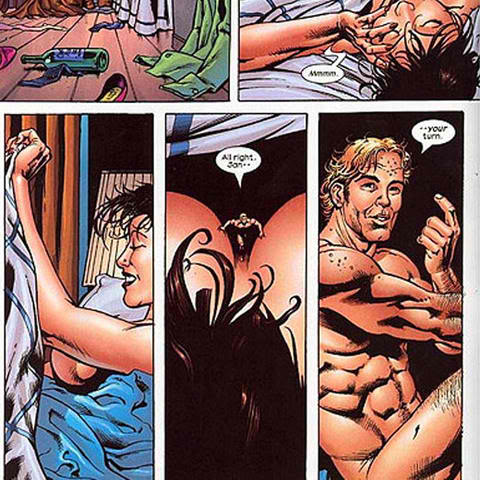 Hank Pym and Janet Van Dyne.